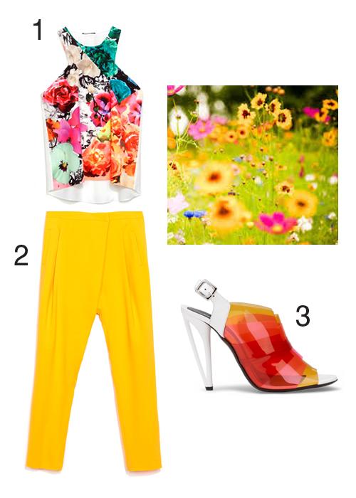 Zara outfit moodboard